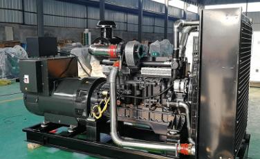 宝方炭材料科技200KW上柴股份发电机组成功交付