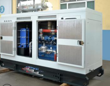 新希望六和股份200KW帕金斯发电机组交付使用