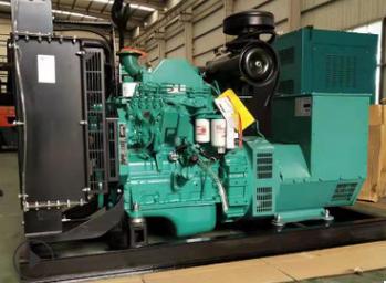 内蒙古中北石油50KW东风康明斯发电机组成功交付