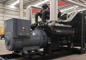 安顺高新区产业700KW上柴股份发电机组成功交付