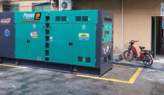 长沙五凌电力500KW奔驰柴油发电机组成功交付使用