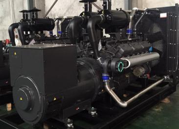 山西航空产业500KW上柴柴油发电机组成功交付使用