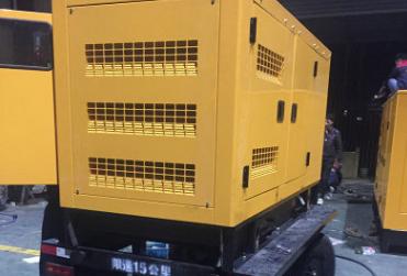青海小西牛生物200KW进口帕金斯柴油发电机组交付