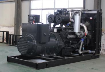 江西中林鄱阳湖600KW上柴股份柴油发电机组使用