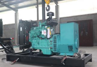 南京新城实业50KW康明斯柴油发电机组交付使用