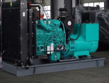 甘肃长城工程机械30KW东风康明斯柴油发电机组成功使用
