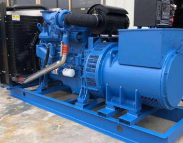 中国化学工程300KW玉柴柴油发电机组成功交付