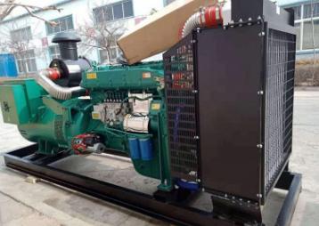 上海上投资产经营100KW东风康明斯发电机组交付使用