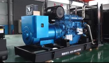 中煤西部煤炭400KW玉柴柴油发电机组成功交付使用