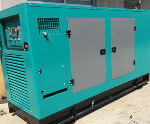 湖杭铁路公司350KW沃尔沃柴油发电机组交付