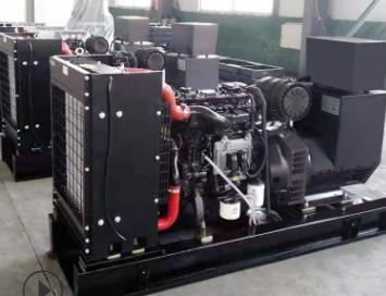 云南省通信产业服务350KW上柴柴油发电机组交付