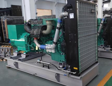 中电(普安)电力500KW沃尔沃柴油发电机组交付