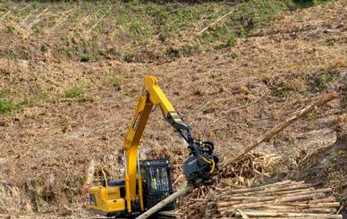 玉柴伐木机-林业机械化的首选