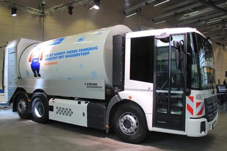 康明斯为欧洲环卫车提供燃料电池