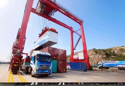 目标2万个集装箱!上汽动力LNG发动机给红岩无人驾驶重卡更大底气