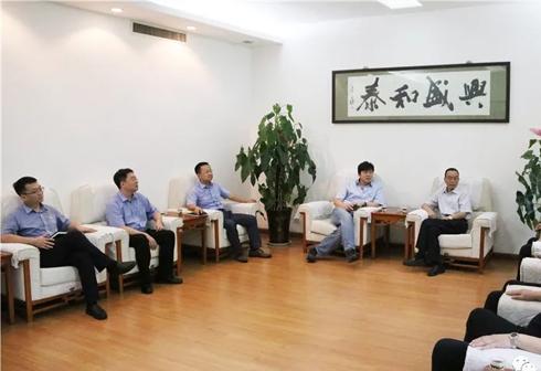 建能燃料公司领导到国泰发电公司走访