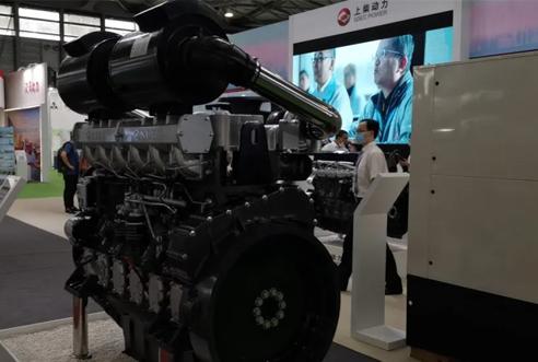 上柴发电动力精彩亮相GPOWER上海动力展