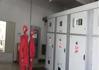 """博大电力项目部""""双保险""""确保电网平稳供电"""